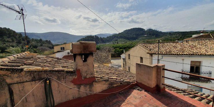 Tradycyjny Hiszpański dom do remontu